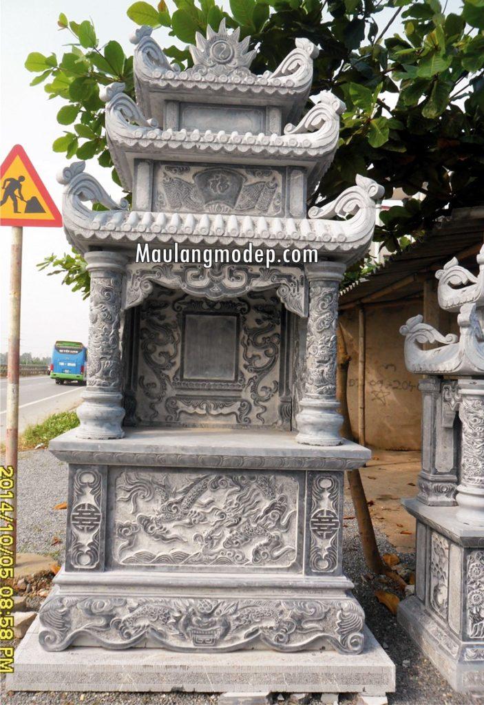 Lăng thờ bằng đá ninh bình
