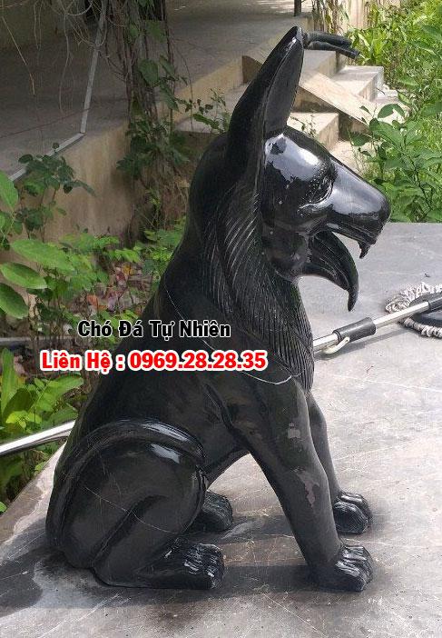 chó bằng đá