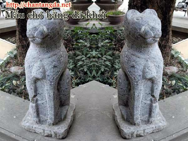 Tượng chó bằng đá cổ