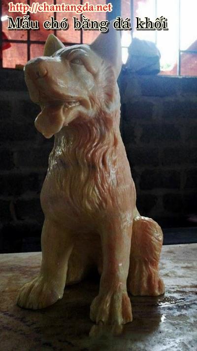 Chó bằng đá vàng