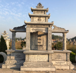 Lăng thờ bằng đá cao cấp