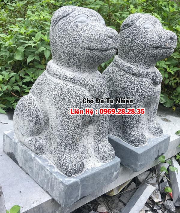 chuyên chế tác, điêu khắc các mẫu chó tư đá tự nhiên