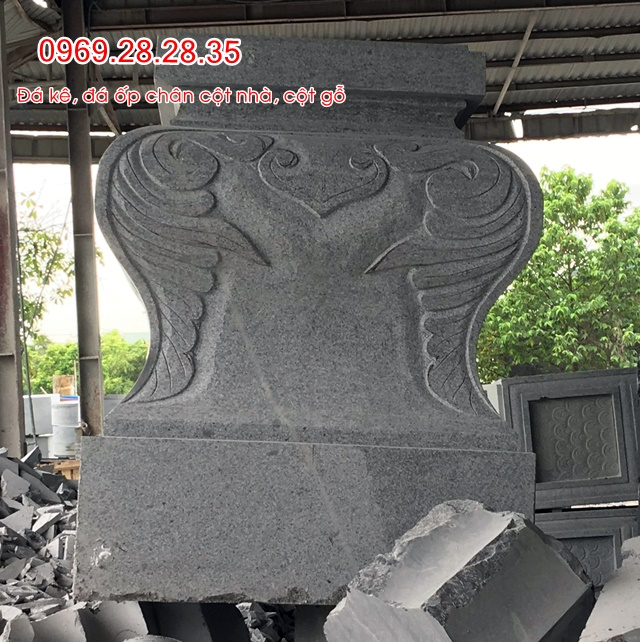 đá granit dùng kê cột