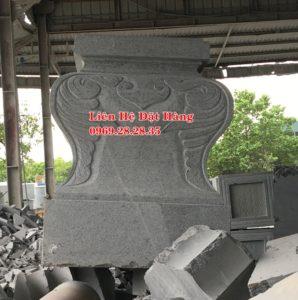 chân cột vuông đá granite