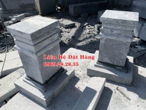 đá kê cột vuông theo yêu cầu