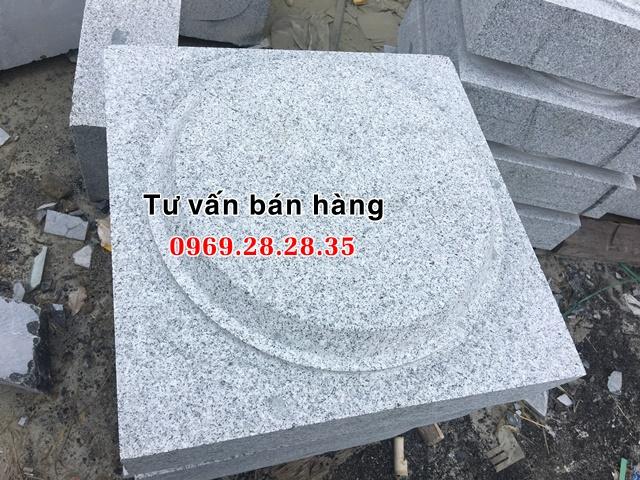 Đế đá granite kê cột nhà